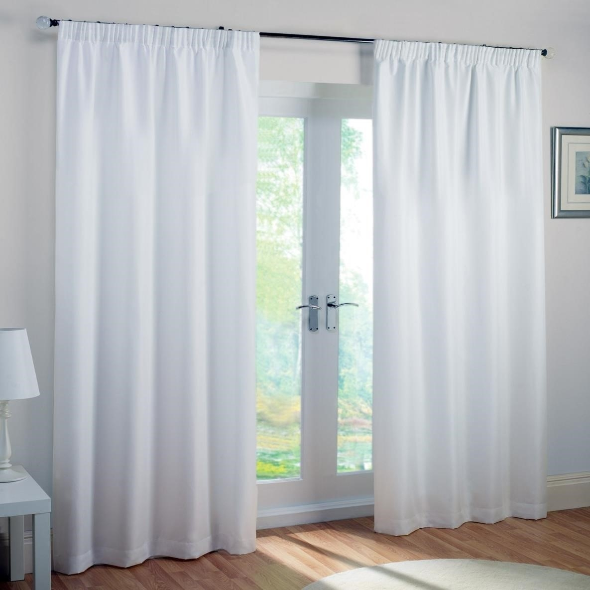 Curtains Curtain Online On Targetcom Find At Target Shop White Throughout White Opaque Curtains (Image 1 of 15)