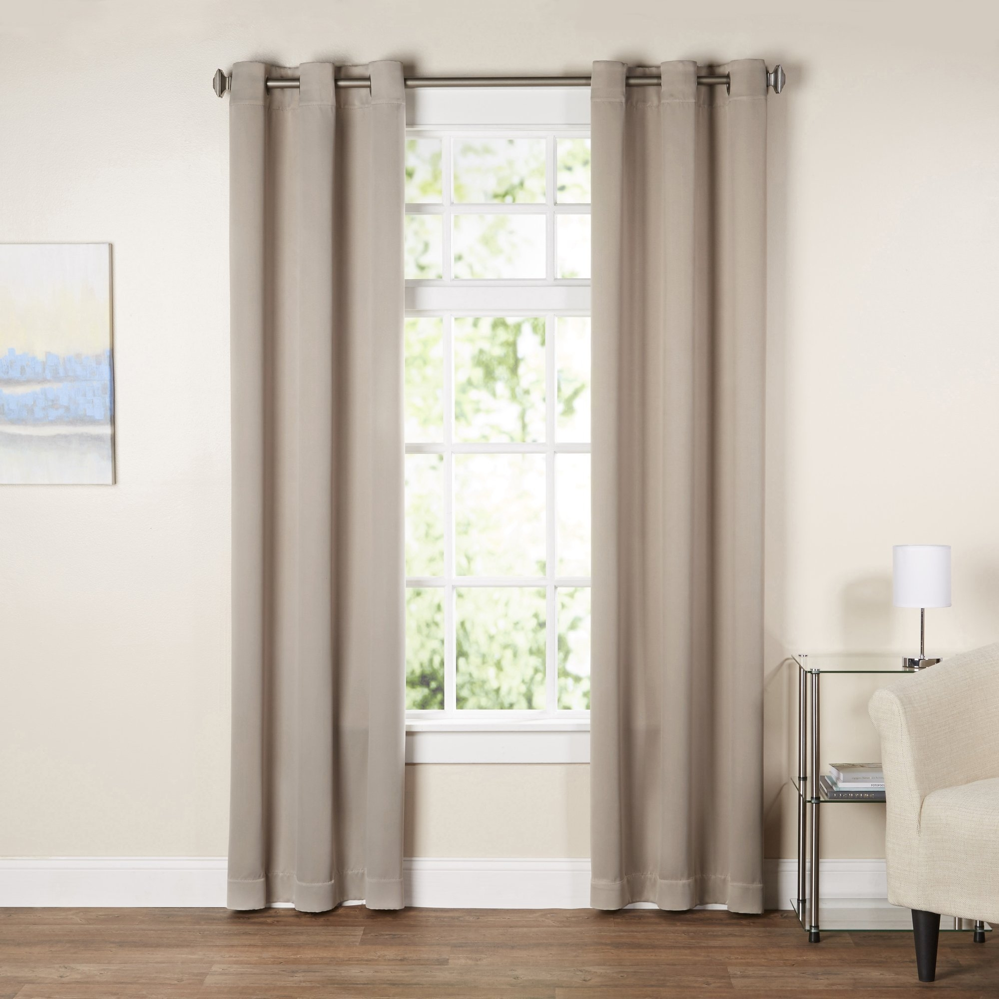 Curtains Drapes Youll Love Wayfair Throughout Extra Wide Linen Curtains (Image 2 of 15)