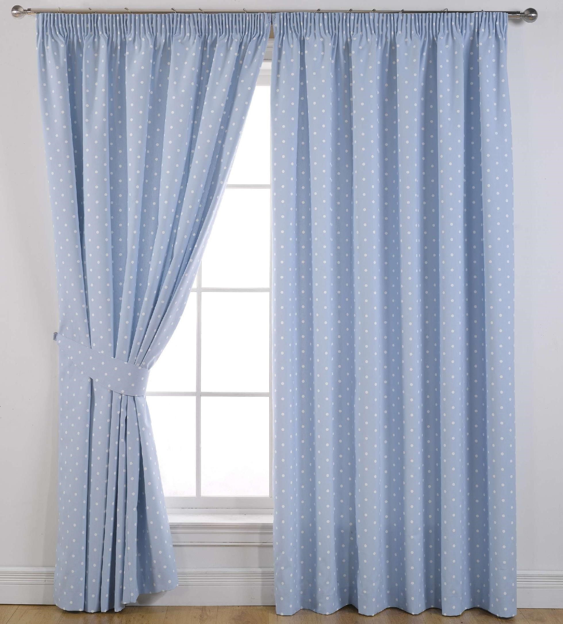 Curtains Eyelet Lined Julian Charles Luxury White Blackout Regarding Blue Blackout Curtains Eyelet (Image 3 of 15)