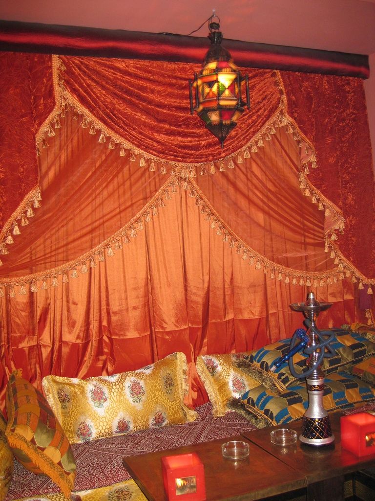 Curtains Moroccan Tea House Speranzaoctavia Flickr Throughout Morrocan Curtains (Image 3 of 15)