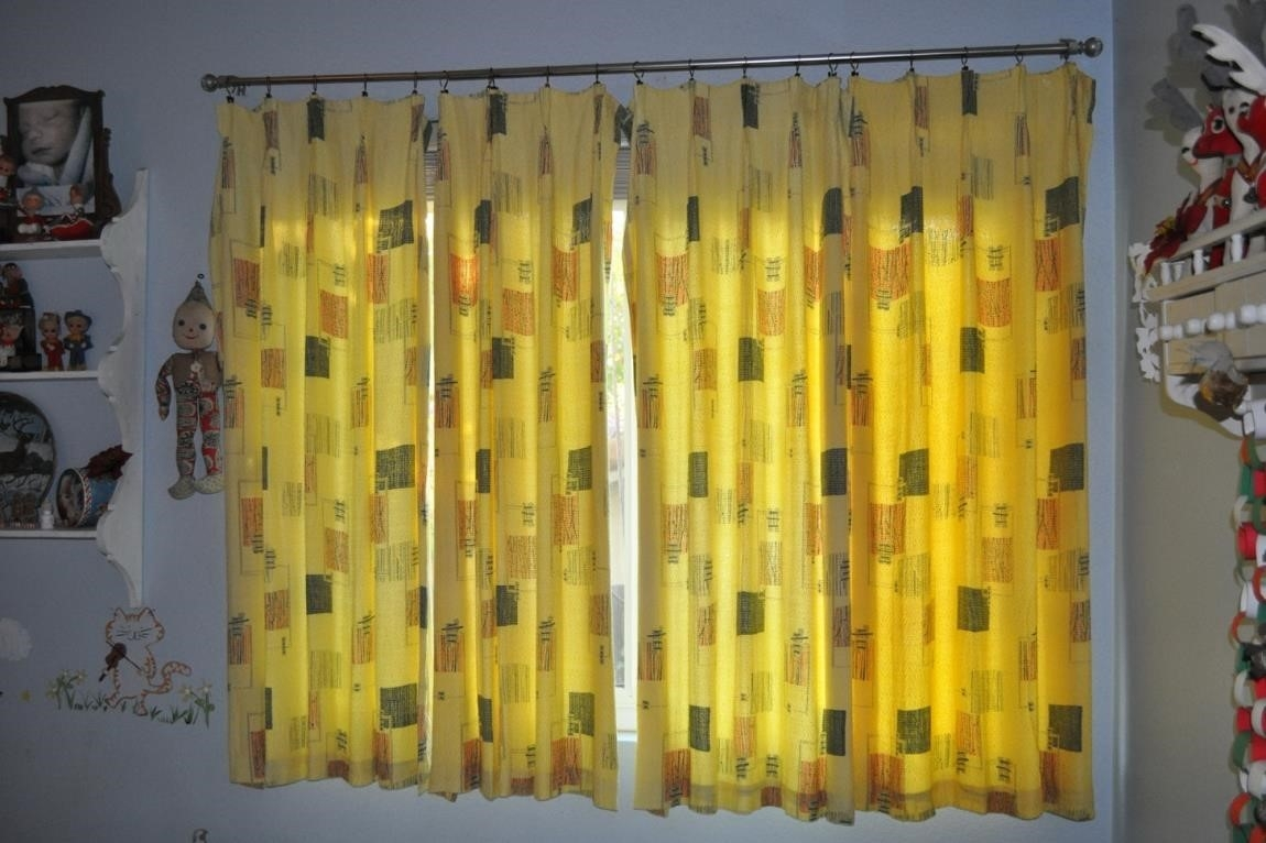Curtains One Of My Pet Peeves Is Thankfully Its Easy To Overcome For Mid Century Modern Curtains (View 11 of 15)