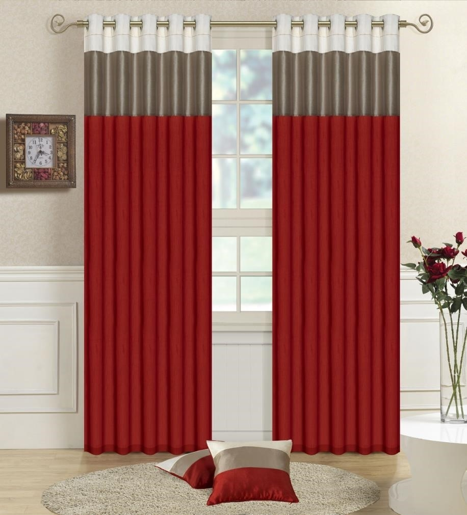 Curtains Pinterest U Blinds Ikea U Red Window Curtains Blinds Pertaining To Silk Blinds (Image 2 of 15)