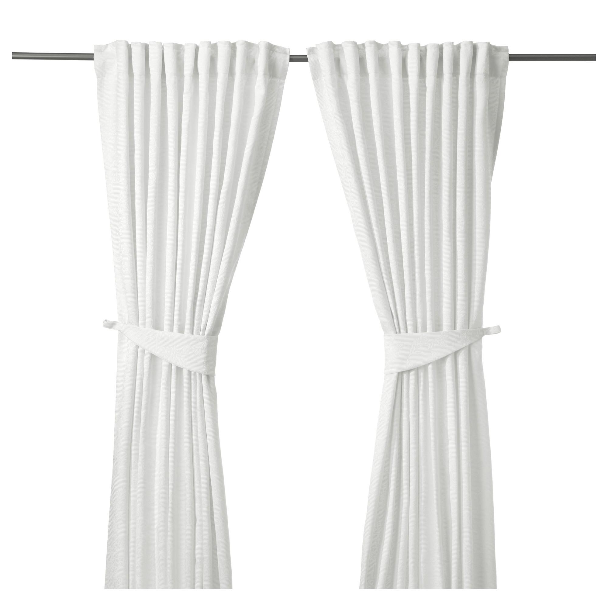 Curtains Ready Made Curtains Ikea Inside White Velvet Curtains (Image 7 of 15)