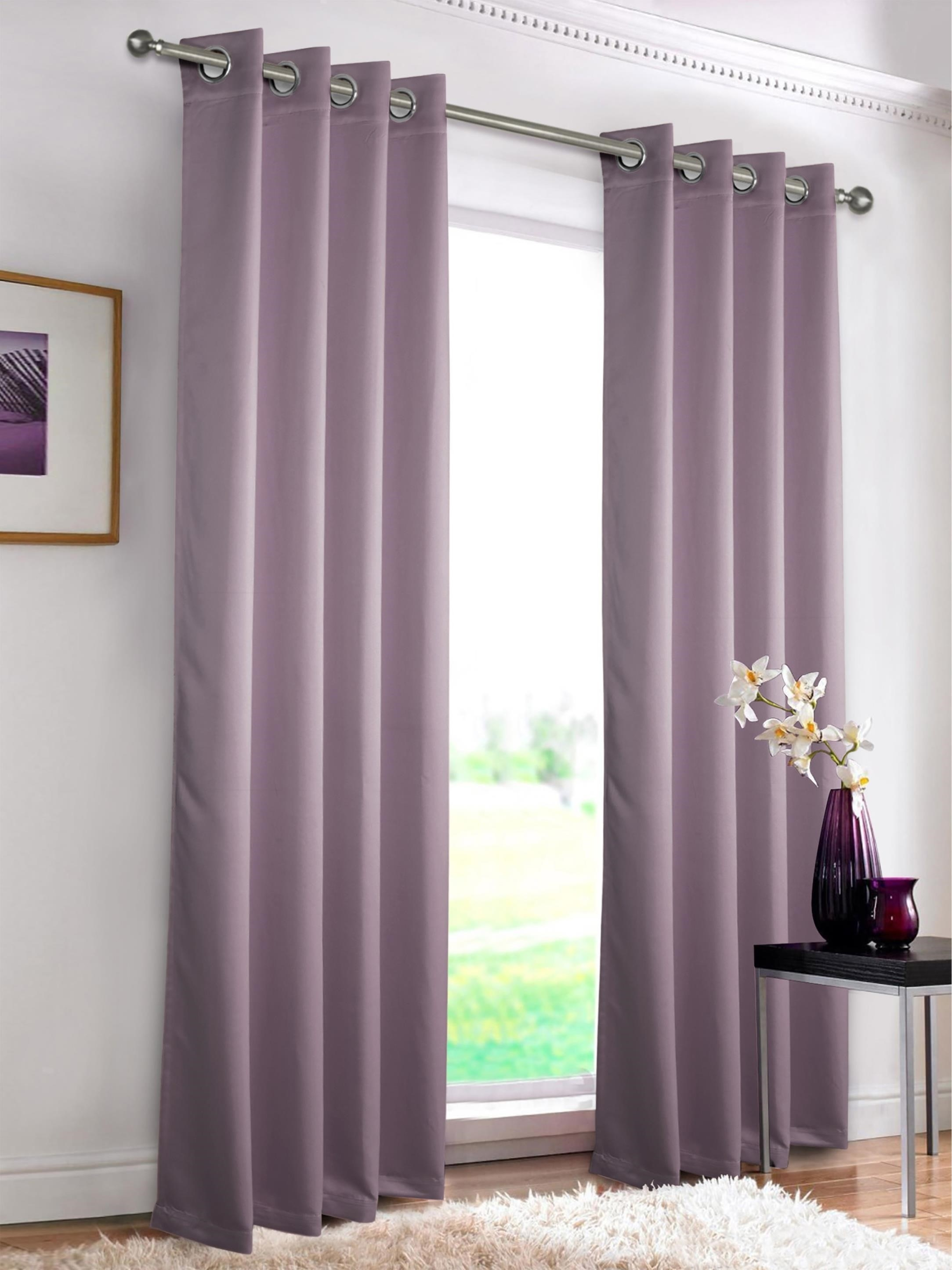 15 Photos Blue Blackout Curtains Eyelet Curtain Ideas