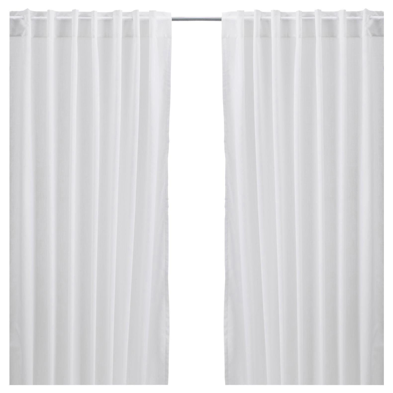 Curtains With Cool Curtain Voile Overlay One Panel Custom Throughout White Opaque Curtains (Image 4 of 15)