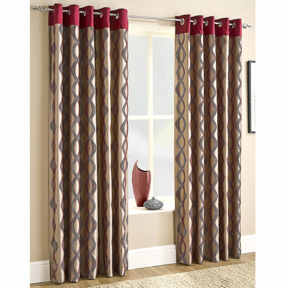 Curtains With Eyelets Best Curtains 2017 Intended For Cream And Gold Eyelet Curtains (Image 8 of 15)