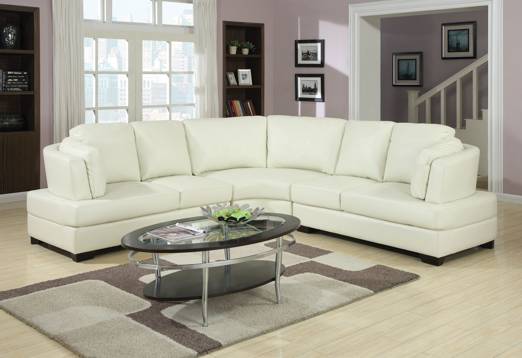 Curved Conversation Sectional Sofa Within Conversation Sofa Sectional (View 7 of 15)