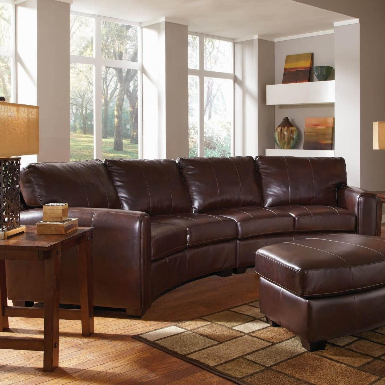 Curved Sectional Sofa Magnificent Large Sectional Sofas 197 Best Intended For Curved Sectional Sofa With Recliner (Image 2 of 15)