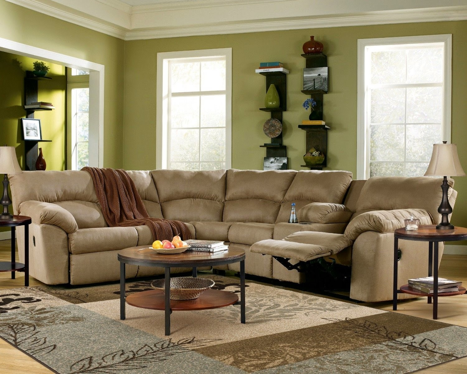 Curved Sectional Sofa Magnificent Large Sectional Sofas 197 Best Regarding Curved Sectional Sofa With Recliner (Image 3 of 15)