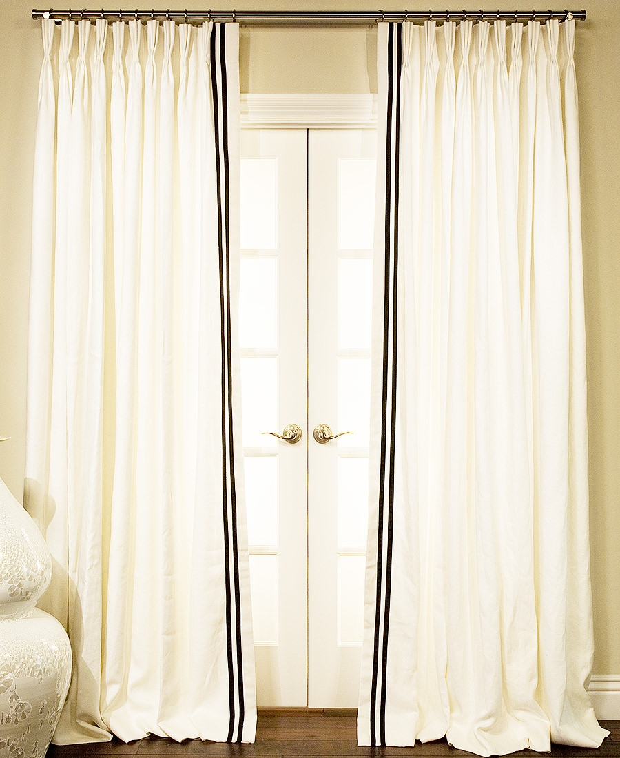 Featured Image of Heavy Linen Drapes