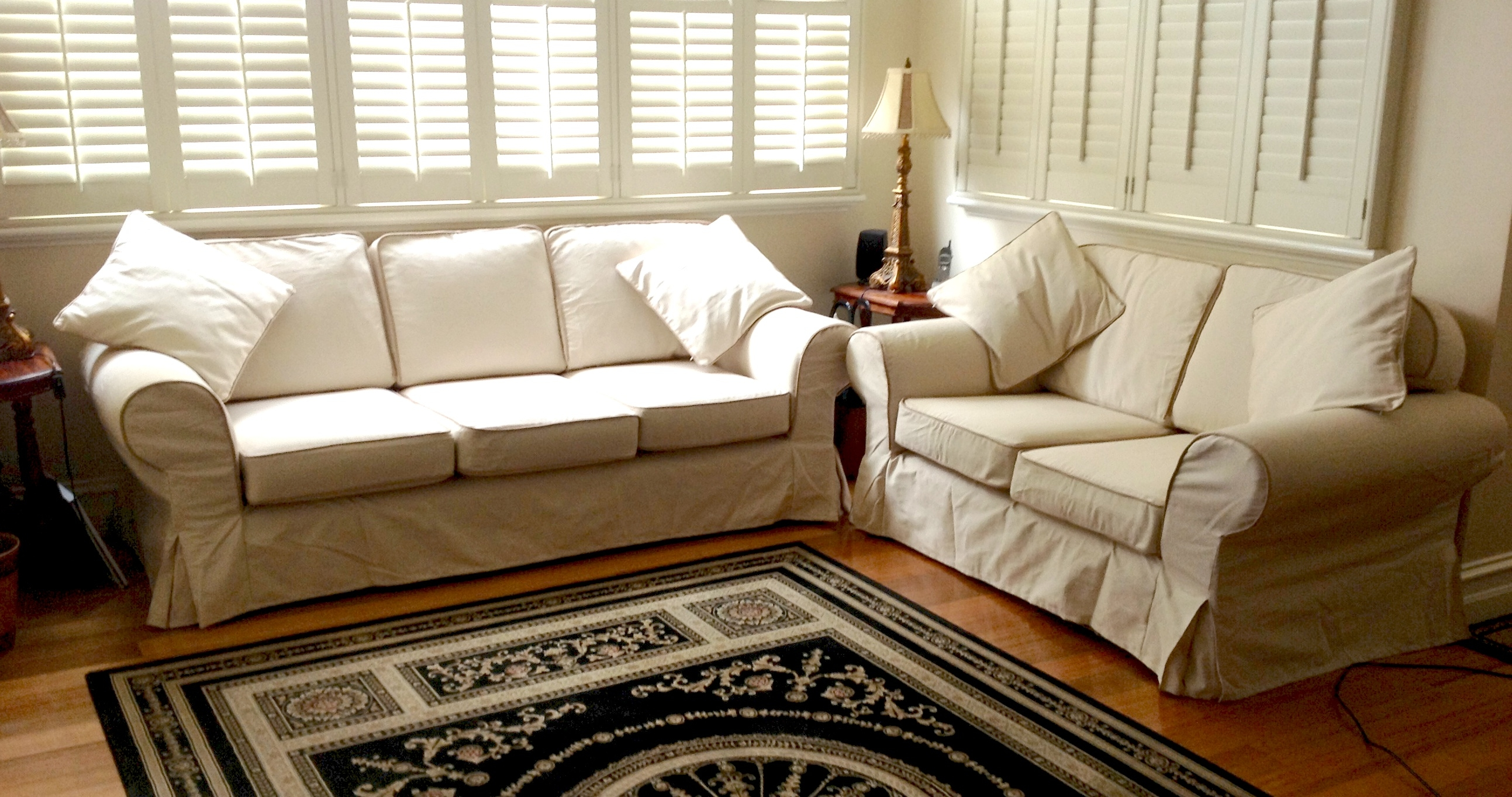 Custom Slipcovers And Couch Cover For Any Sofa Online For Custom Made Sectional Sofas (View 9 of 15)