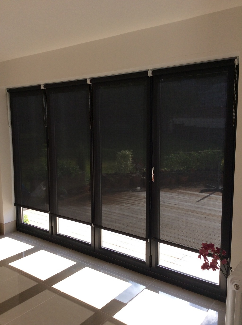 Customer Comments Lifestyleblinds In Roman Blinds Black (Image 9 of 15)