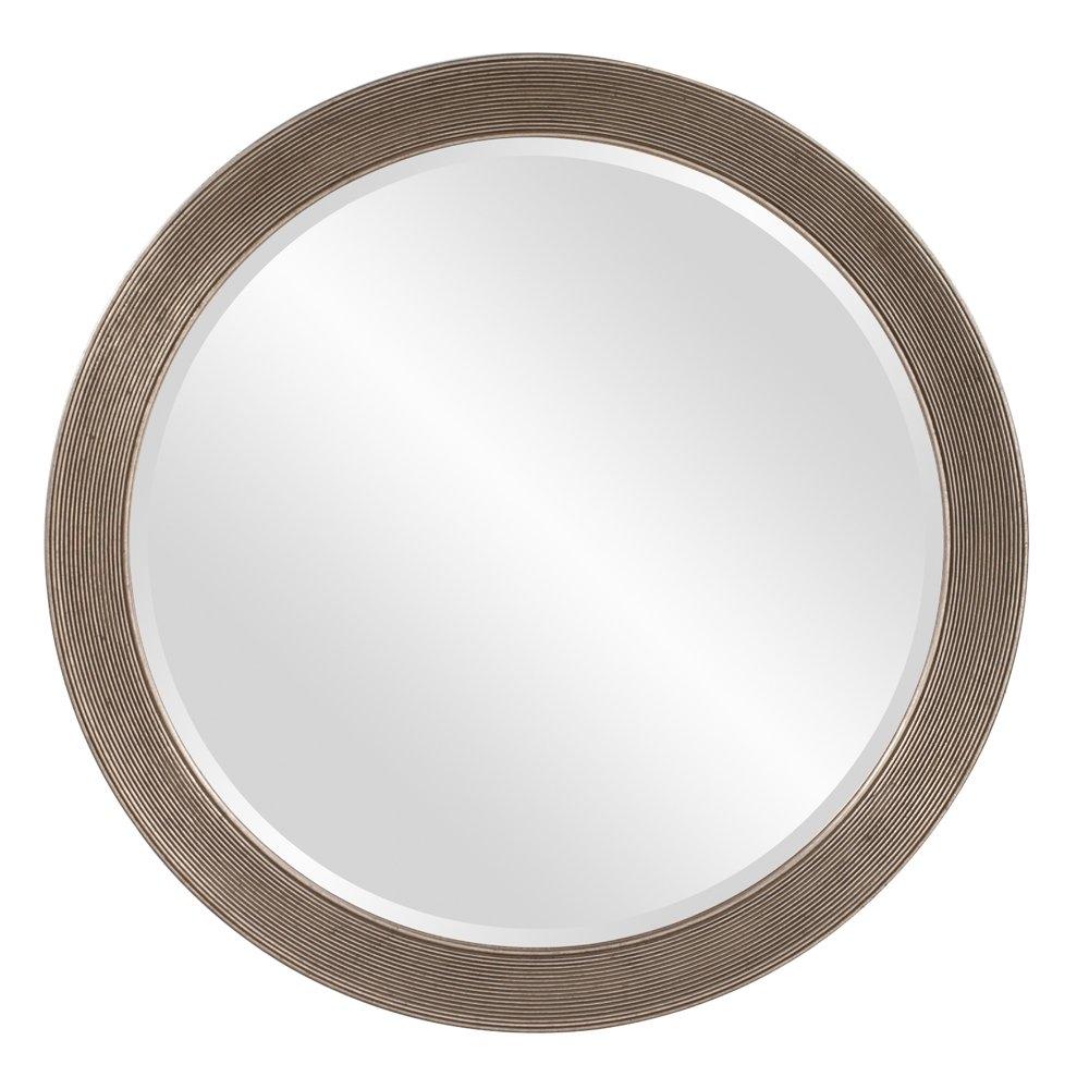 Dar Home Co Round Antique Silver Leaf Mirror Reviews Wayfair With Regard To Round Antique Mirror (View 6 of 15)