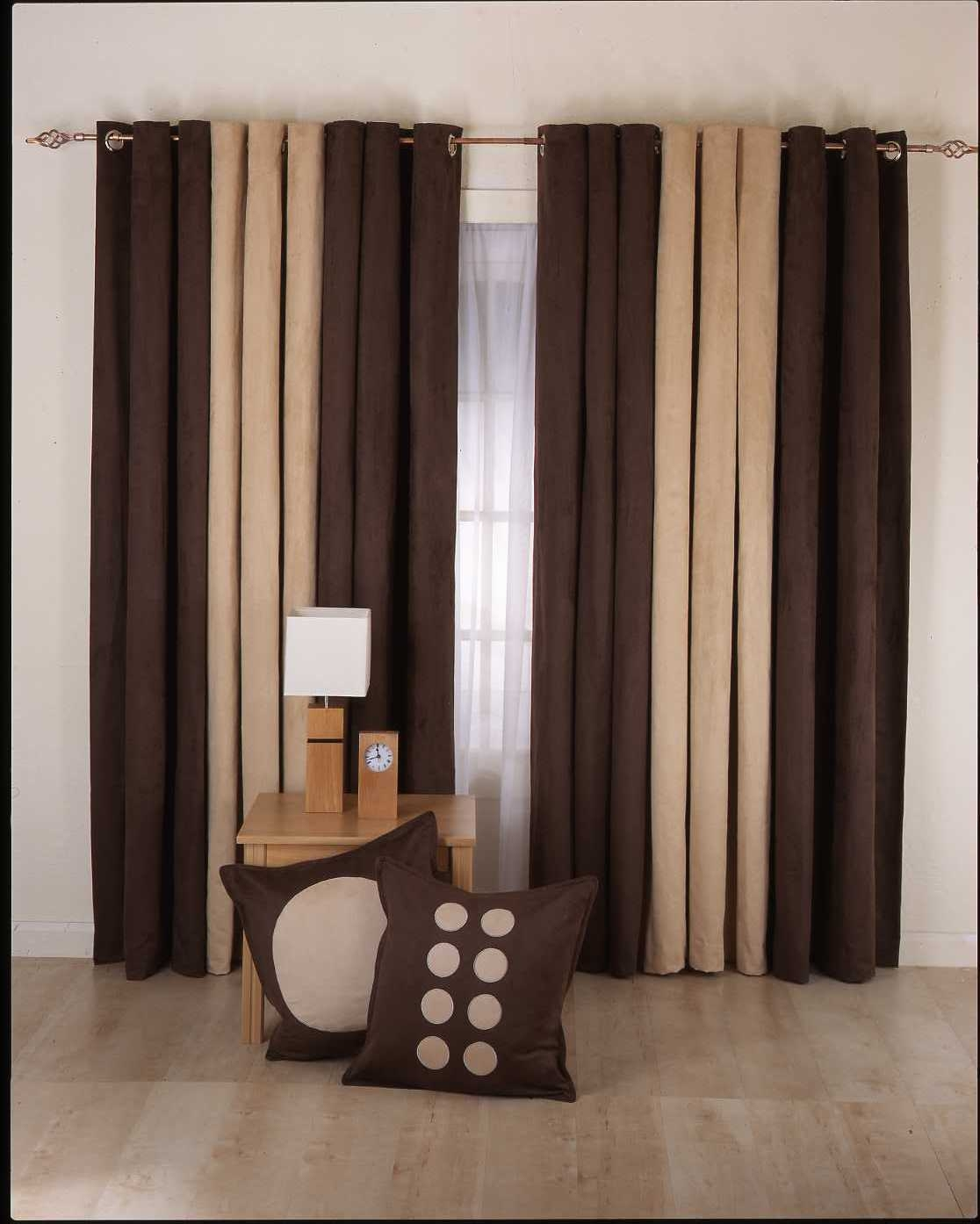 Dark Brown Curtains Kitchen Ideas Part 100 Throughout Dark Brown Velvet Curtains (View 10 of 15)