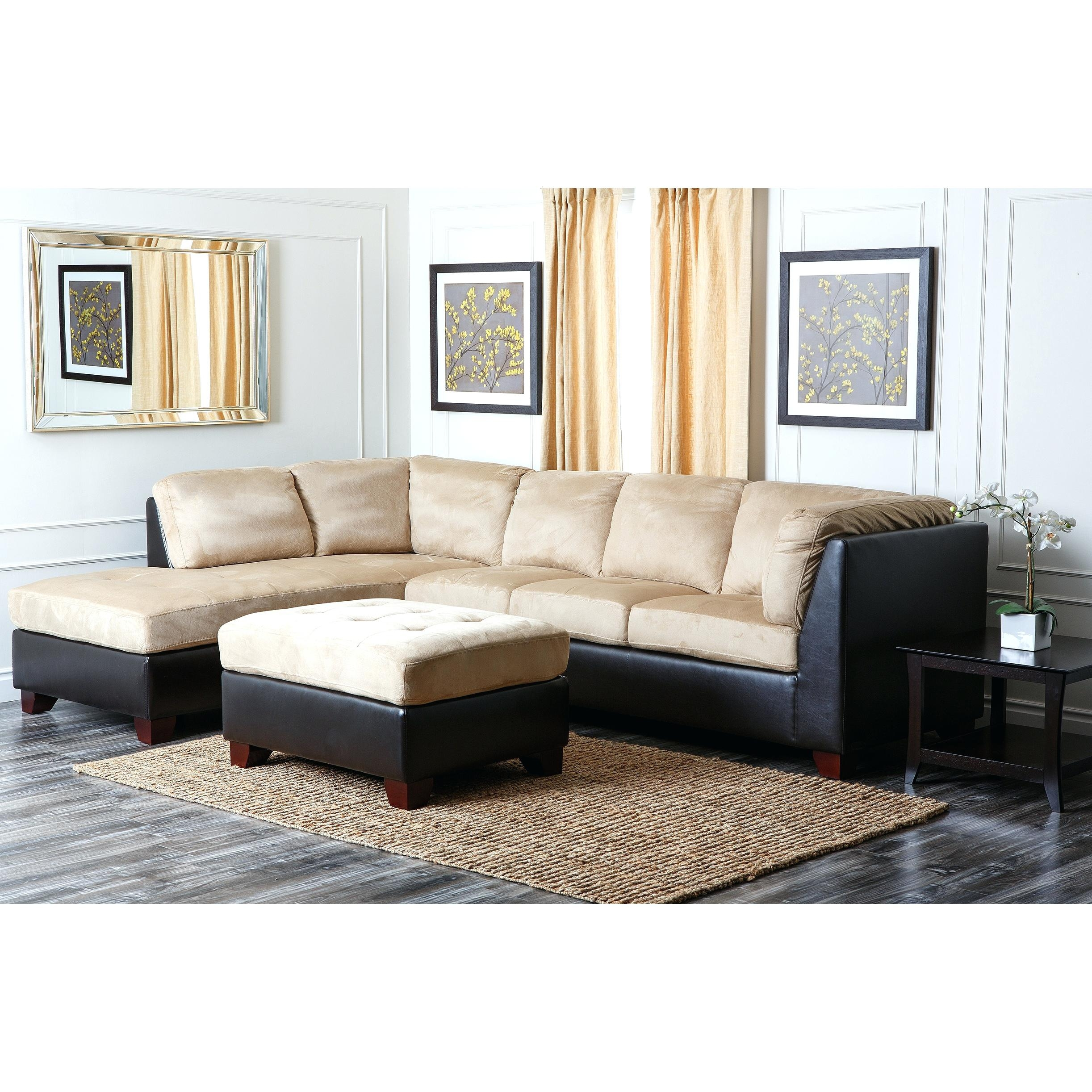 Dark Gray Ottoman Abson Living Ci D107 Crm Bailey Sectional Sofa Throughout Abbyson Living Charlotte Dark Brown Sectional Sofa And Ottoman (Image 10 of 15)