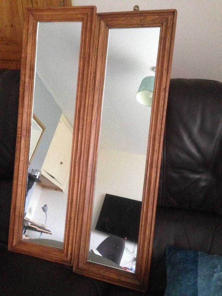 Dark Oak Mirrors For Sale In Wrexham Gumtree Intended For Oak Mirrors For Sale (View 4 of 15)