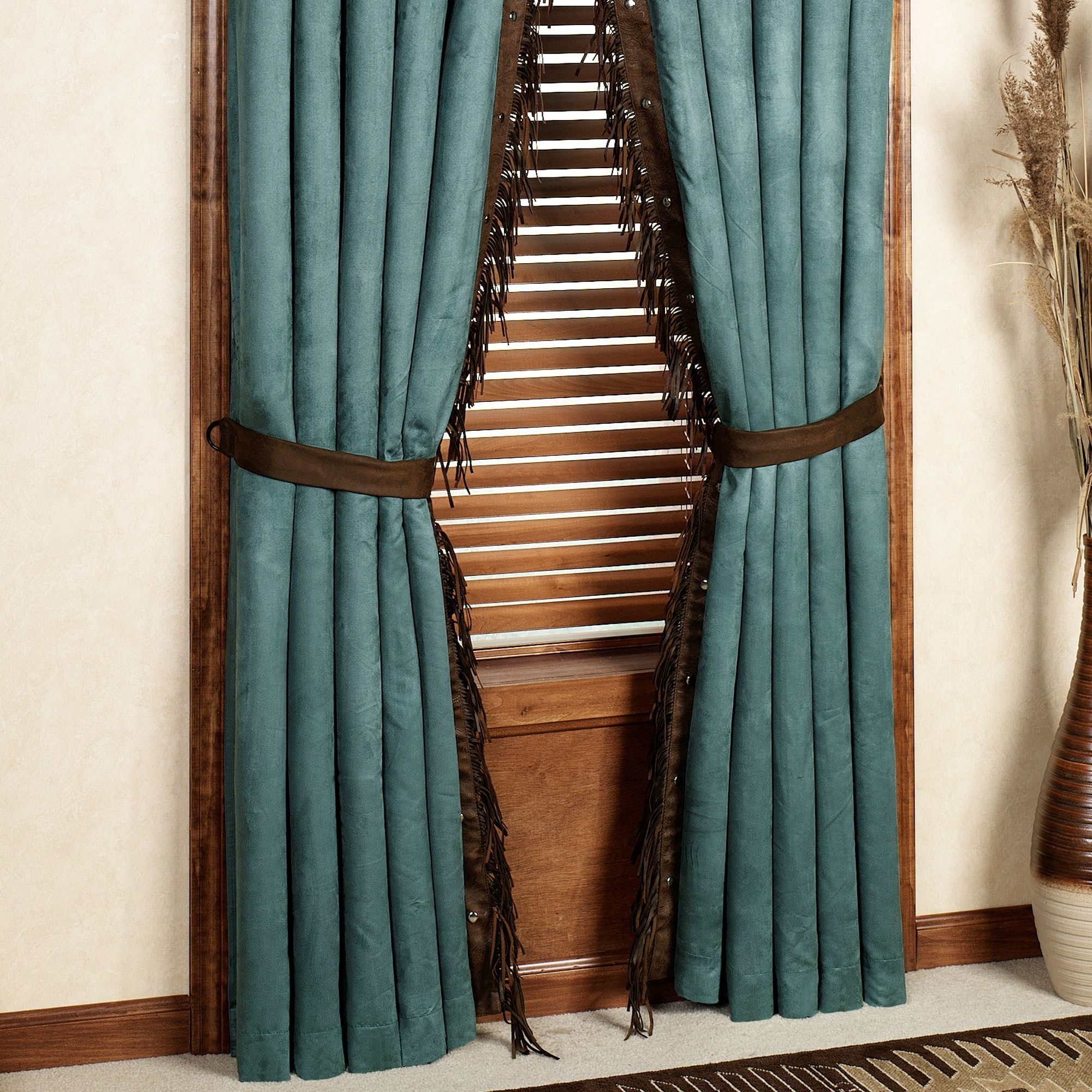 Dark Turquoise Curtain Panels Turquoise Curtain Panels Settings In Turquoise Burlap Curtains (Image 12 of 15)