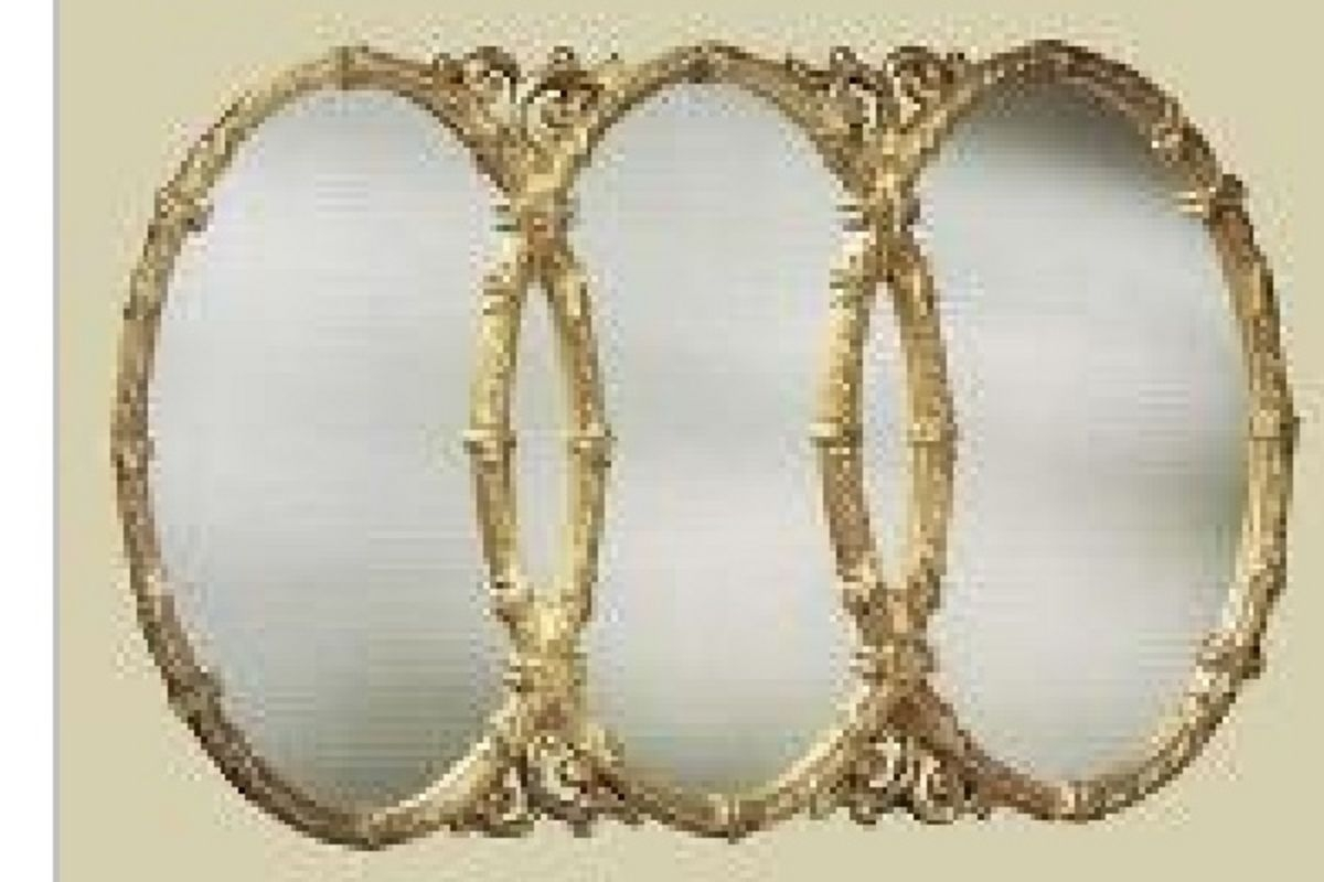 Featured Image of Triple Oval Wall Mirror