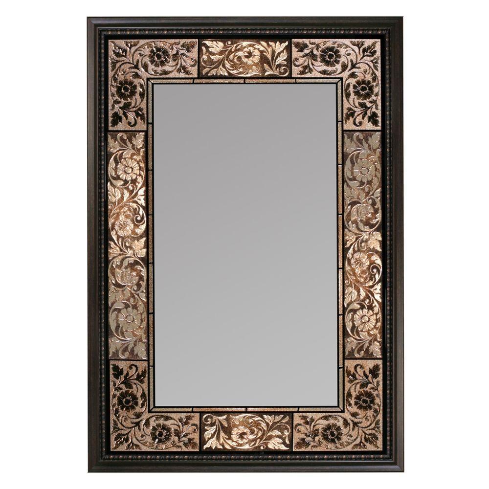 Deco Mirror Bathroom Mirrors Bath The Home Depot In Deco Mirrors (View 8 of 15)