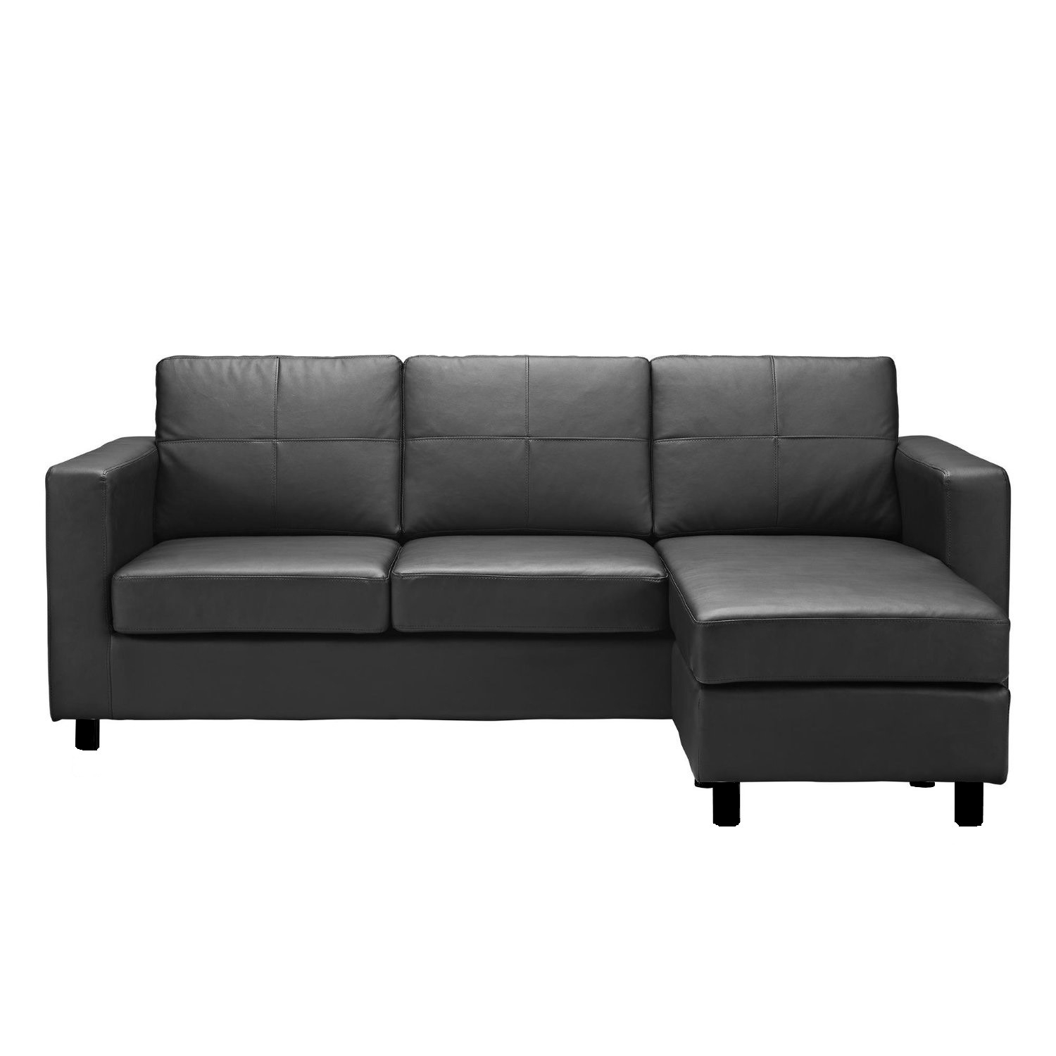 Decor Artificial Classic Corduroy Sectional Sofa For Unique In Compact Sectional Sofas (Image 4 of 15)