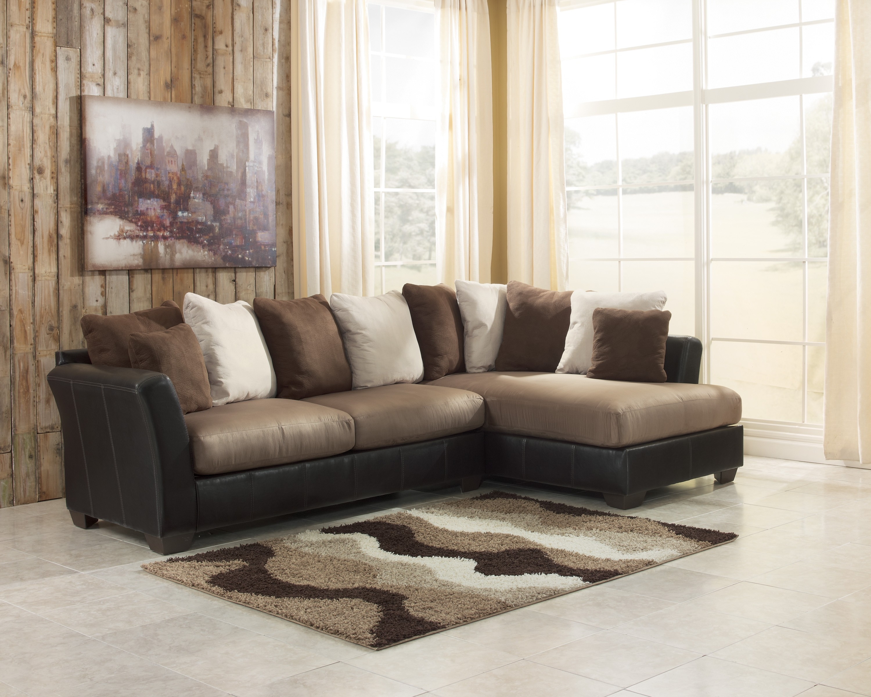 Decor Fascinating Benchcraft Sofa With Luxury Shapes For Living With Regard To Berkline Sectional Sofa (Image 9 of 15)