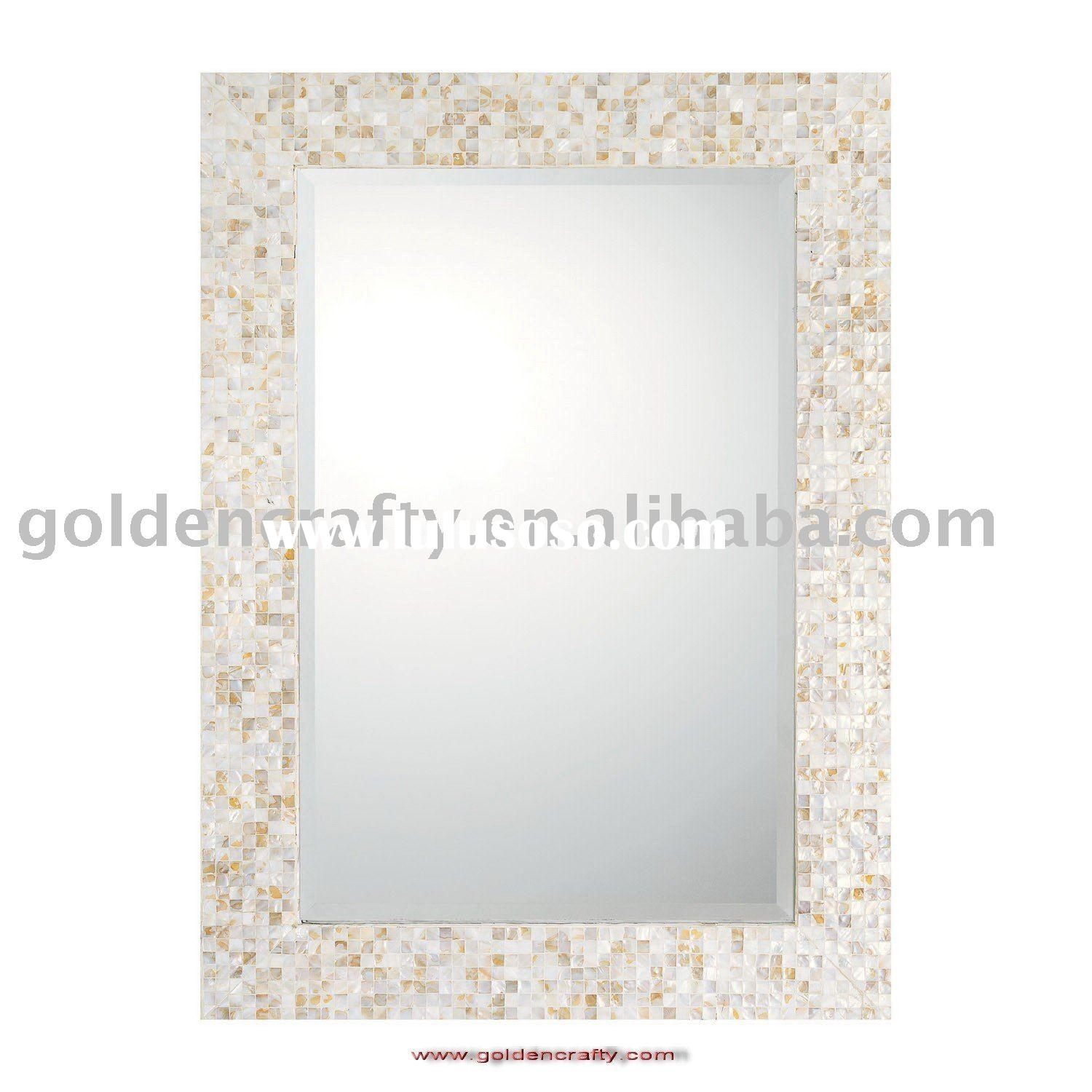Decor Home Decoration With Wall Mirror In Mother Of Pearl Mirror Pertaining To Mother Of Pearl Wall Mirror (View 4 of 15)