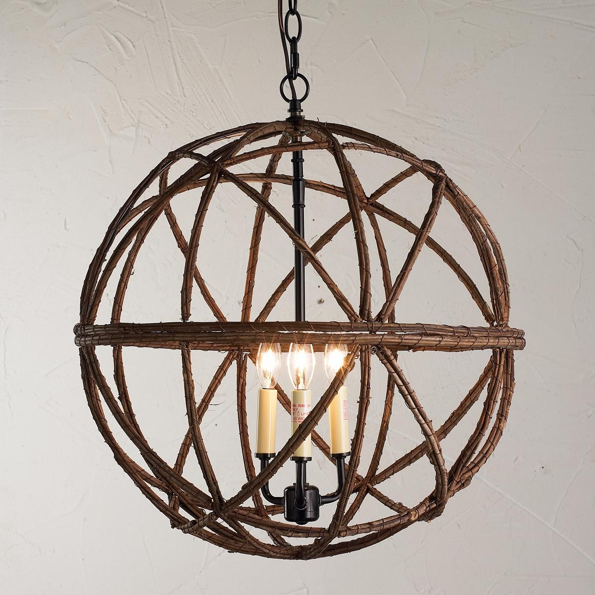 Decor Sphere Chandelier Is One Of The Best Light Fixture And Within Metal Sphere Chandelier (Image 6 of 15)