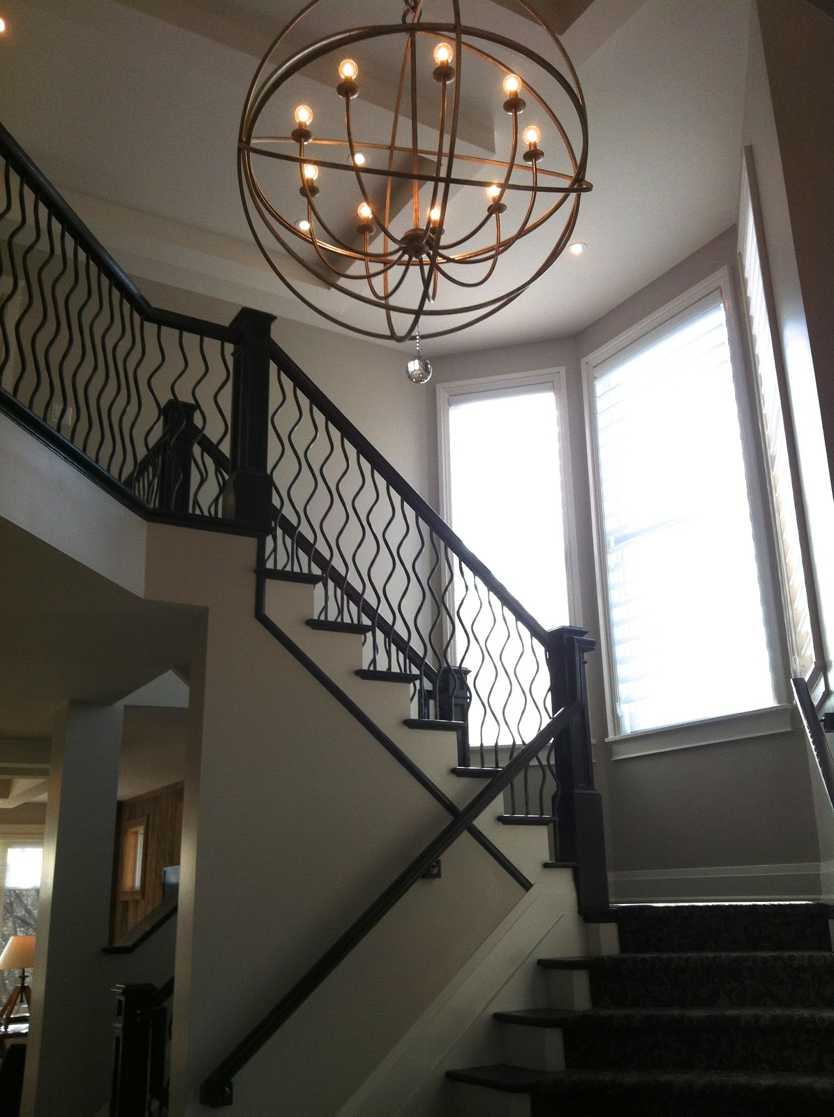 Decor Tips Greet Your Guest With Dazzling Foyer Chandeliers With Regard To Staircase Chandeliers (Image 5 of 15)