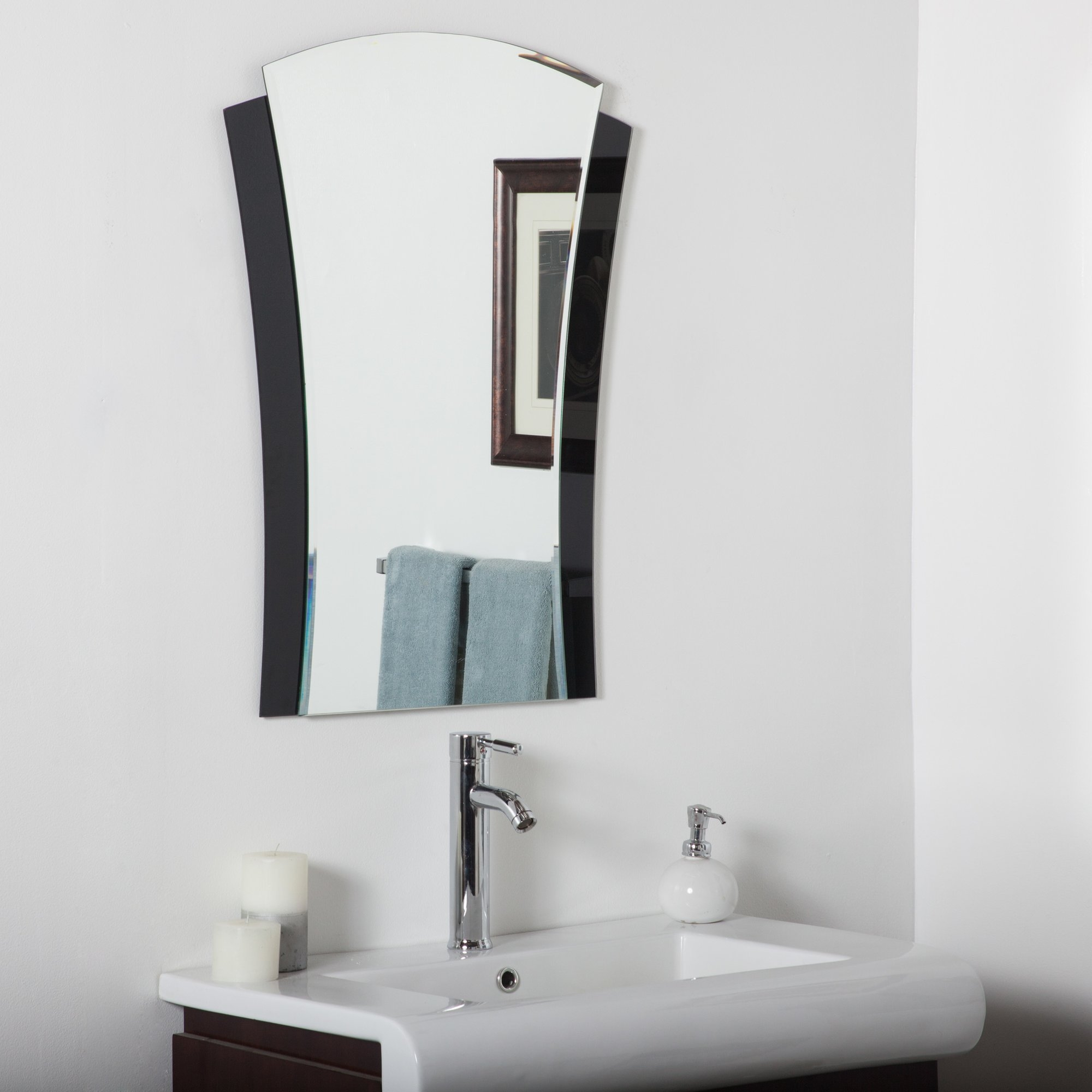 Decor Wonderland Deco Wall Mirror Reviews Wayfair In Deco Bathroom Mirror (Image 12 of 15)