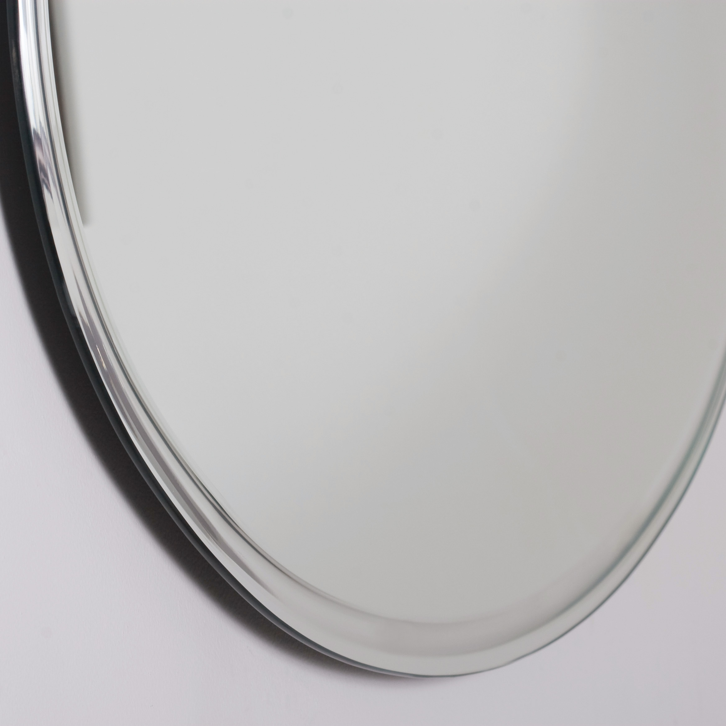 Decor Wonderland Extra Long Oval Wall Mirror Beyond Stores With Long Oval Mirror (Image 9 of 15)
