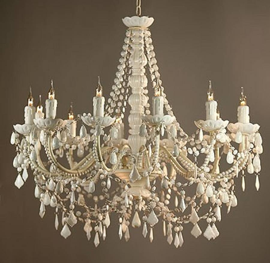 Decorate Your Place Using White Chandelier Designinyou Within White Chandelier (Image 5 of 15)