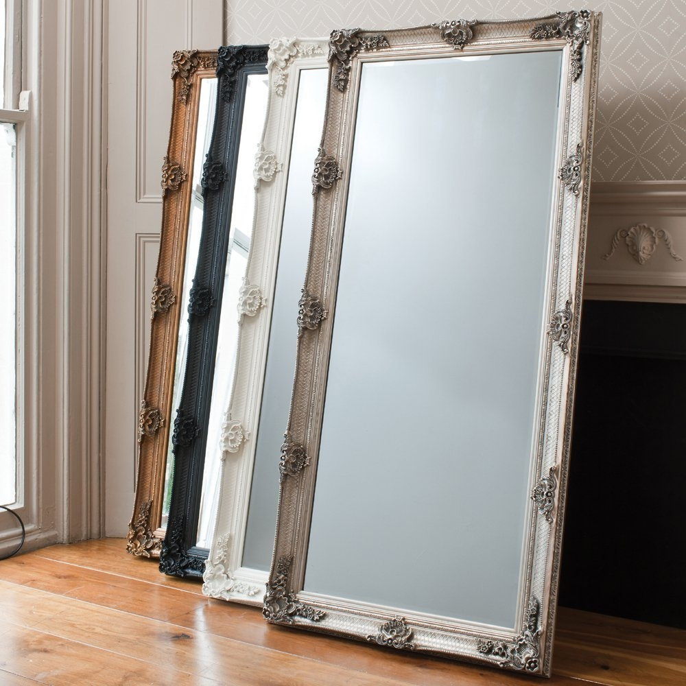 Decorating Tips With Mirrors Inside Ornate Free Standing Mirror (Image 5 of 15)