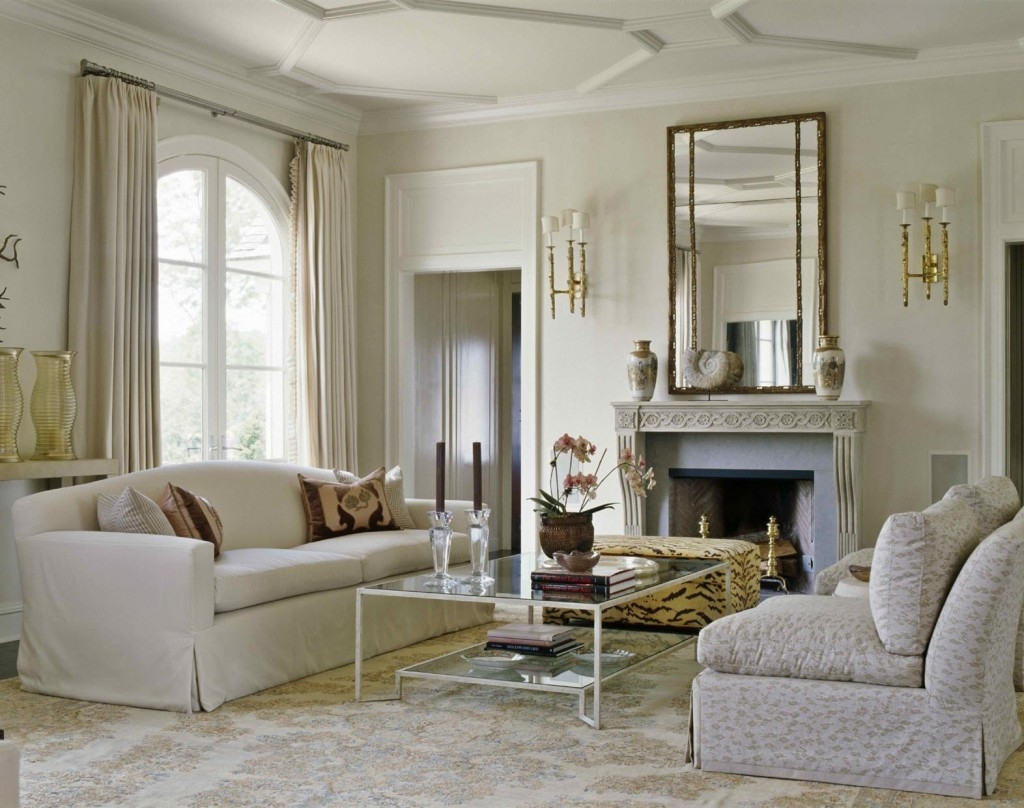 Decoration Decorate Fireplace Using Wall Mirror Ideas For Large Mantel Mirror (View 15 of 15)