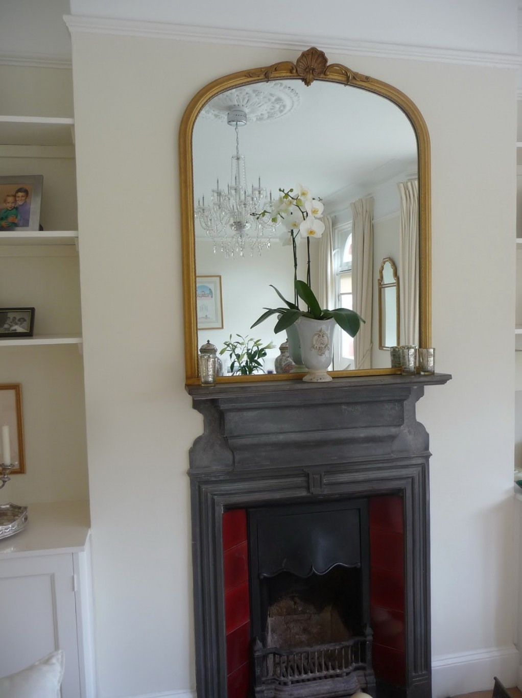 Decoration Decorate Fireplace Using Wall Mirror Ideas With Regard To Above Mantel Mirrors (View 10 of 15)