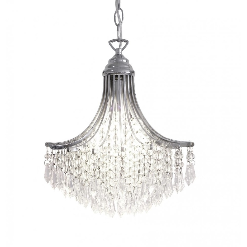 Decoration Ideas Chic Bedroom Decoration With Small Dark Brown And Pertaining To Small Glass Chandeliers (View 8 of 15)