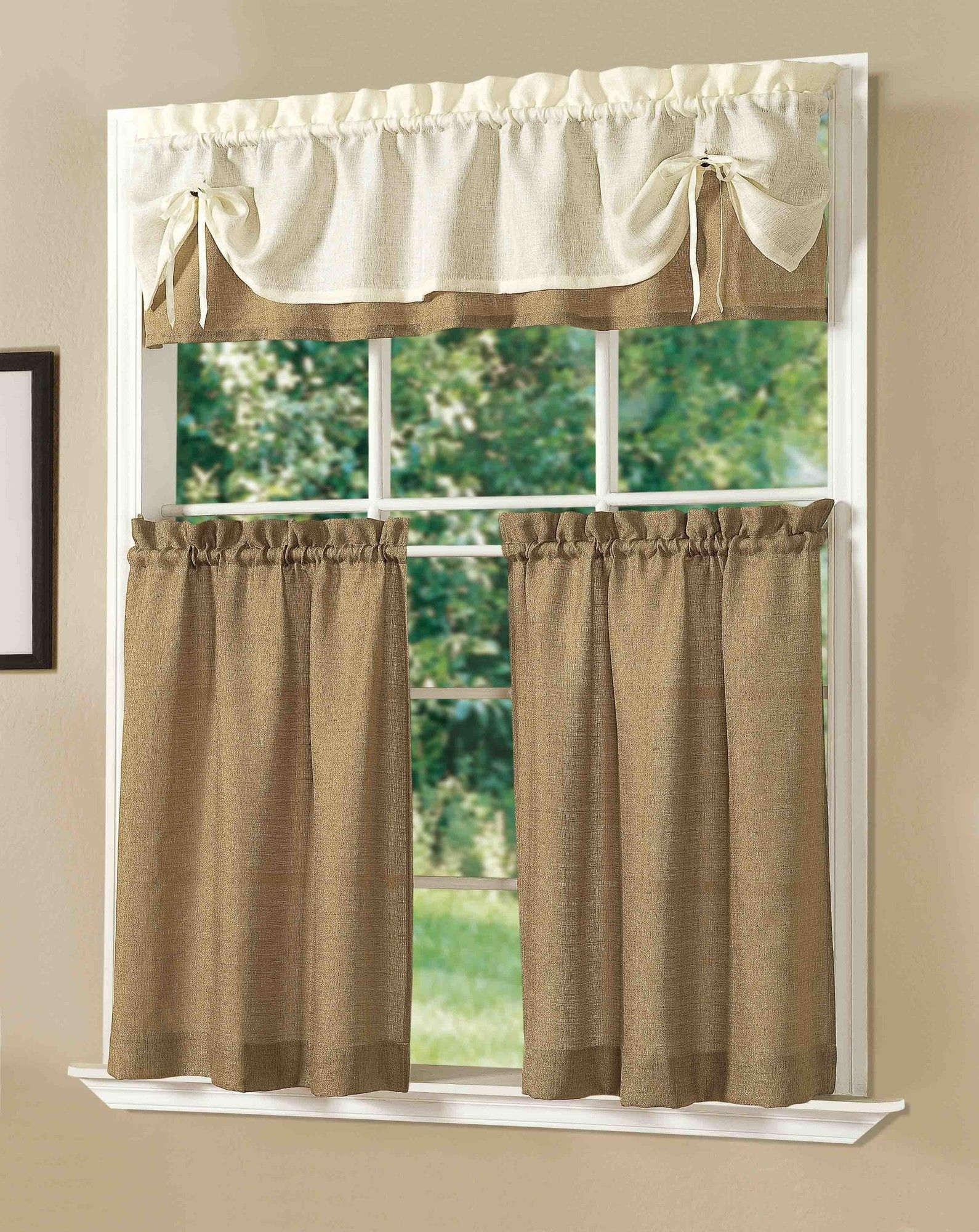 Decorations Where Can I Buy Burlap Curtains Burlap Fabric For With Regard To Turquoise Burlap Curtains (Image 13 of 15)