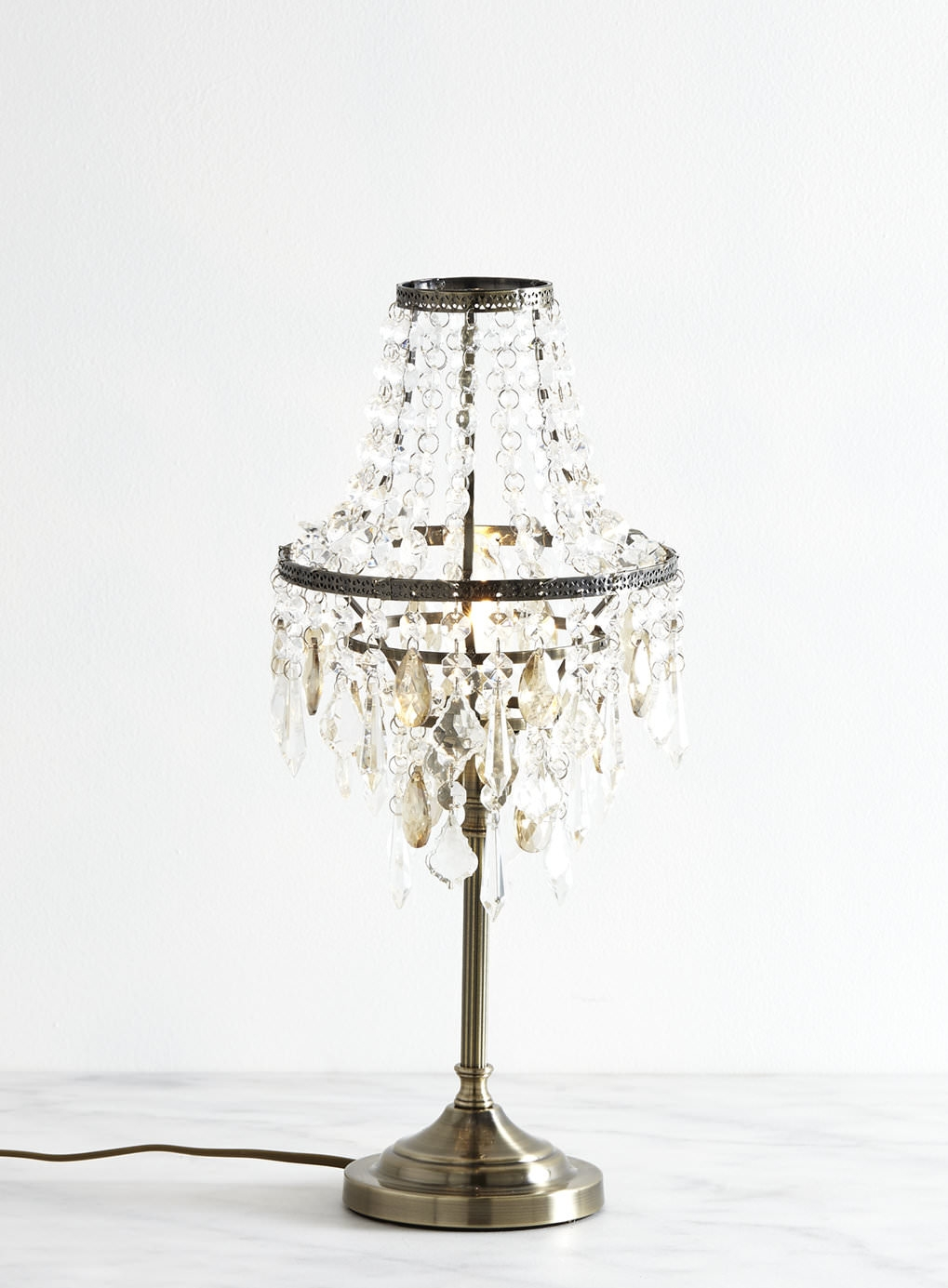 Decorative Chandelier Table Lamp Lighting Fixtures All In One In Table Chandeliers (Image 8 of 15)