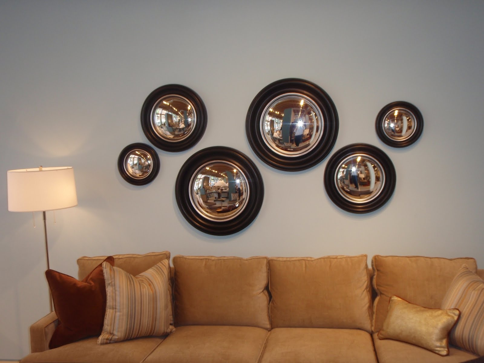 Decorative Convex Mirror Photos Regarding Decorative Convex Mirror (Image 8 of 15)