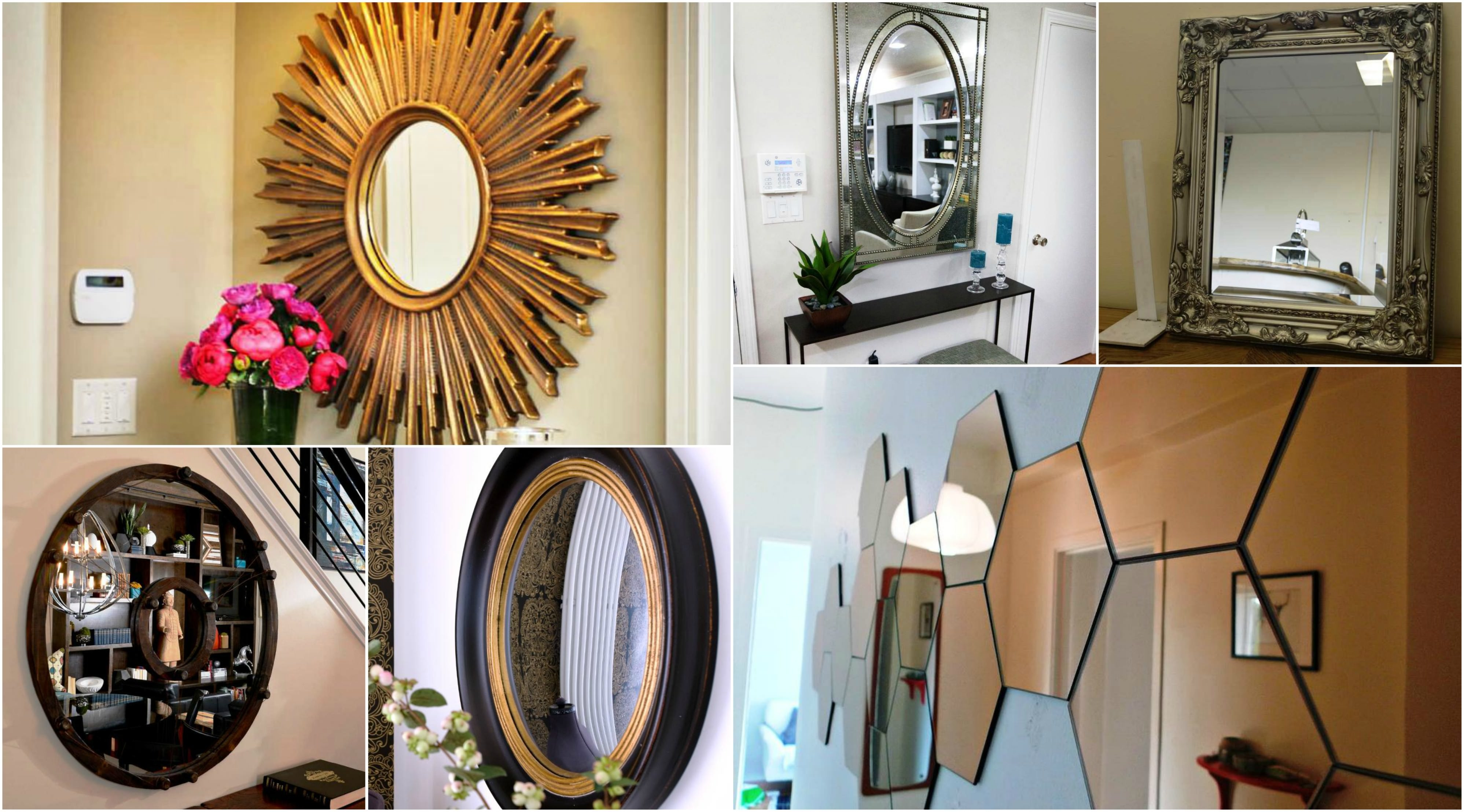 Decorative Large Hallway Mirrors Ideas With Regard To Large Funky Mirrors (View 10 of 15)