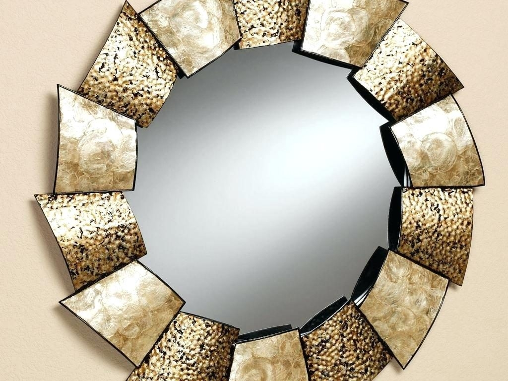 Decorative Mirror Designs Pitchloveco For Fancy Wall Mirrors (Image 3 of 15)