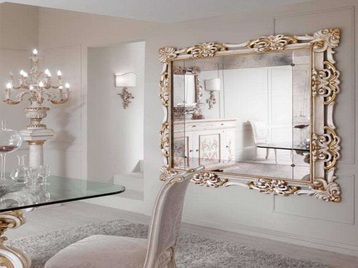 Decorative Ornate Mirrors Wall Vs Floor Which One Better For Ornate Mirrors Large (Image 3 of 15)