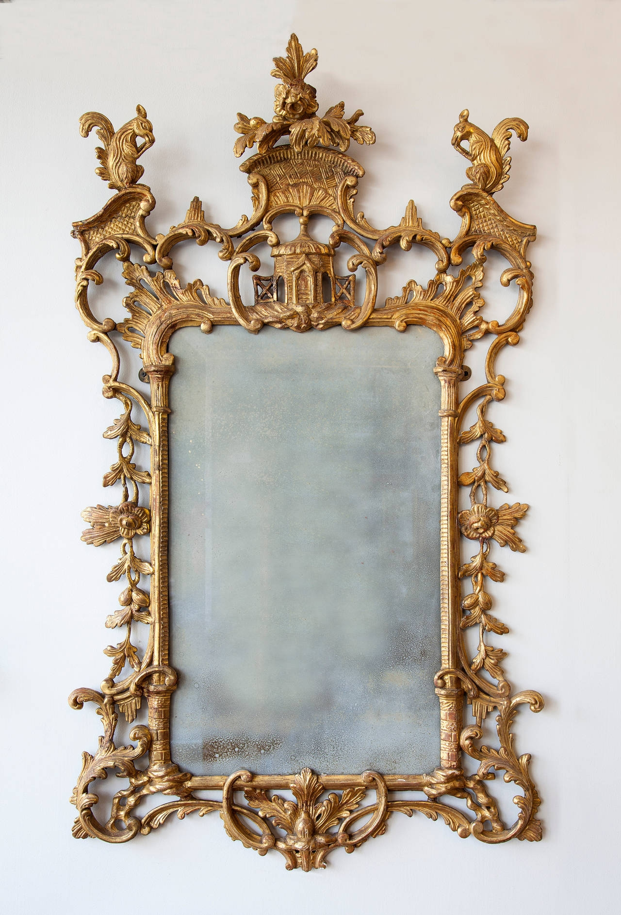 Decorative Vintage Mirrors For Sale 28×22 Baroque Gold Mirror In Baroque Gold Mirror (Image 9 of 15)