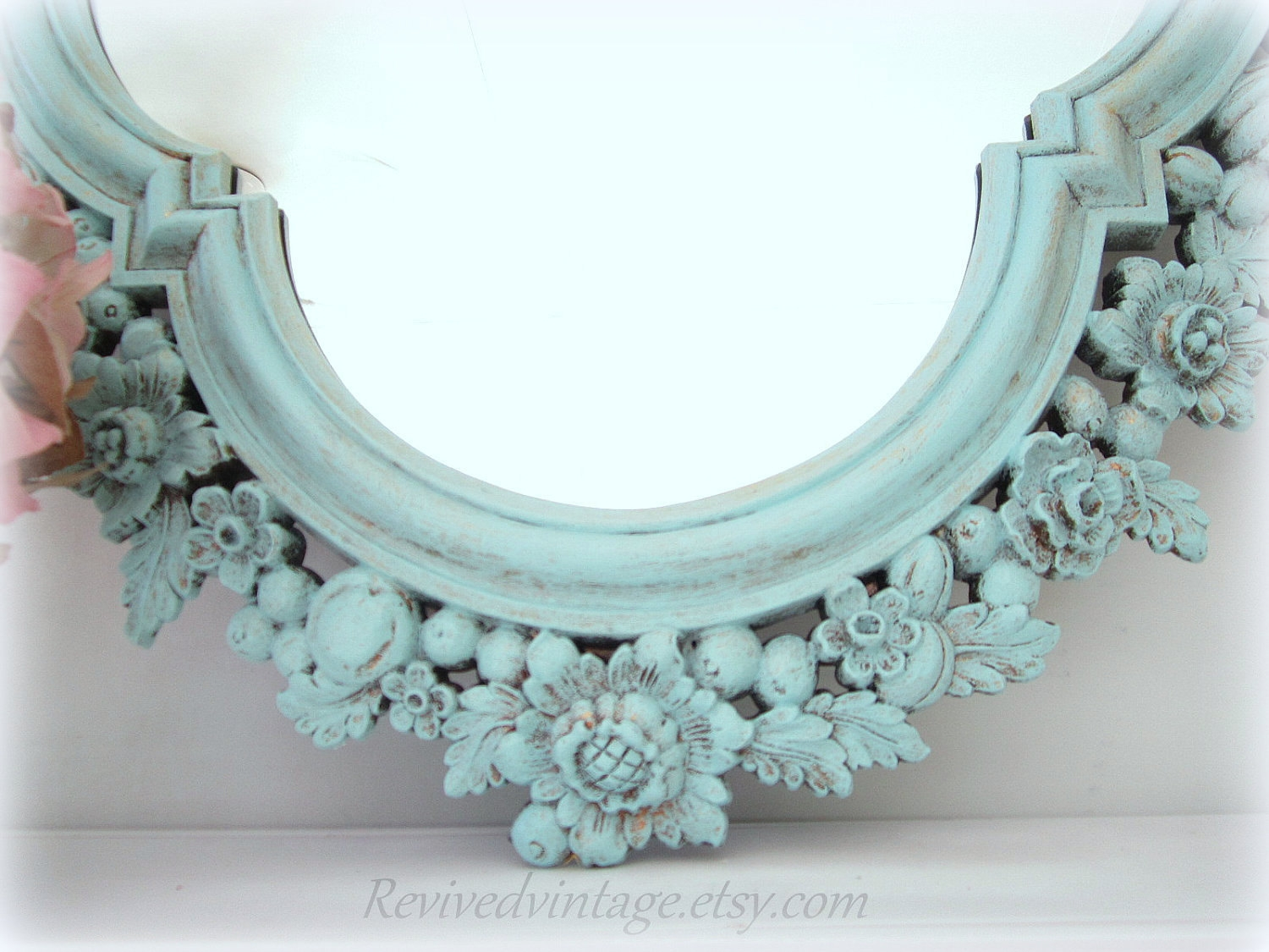 Decorative Vintage Mirrors For Sale Large Mirror Shab Chic Inside Vintage Mirrors For Sale (View 8 of 15)