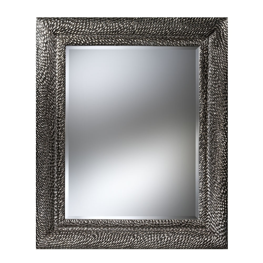 Deknudt Dragon Rectangular Mirror Silver Houseology With Silver Rectangular Mirror (Image 4 of 15)