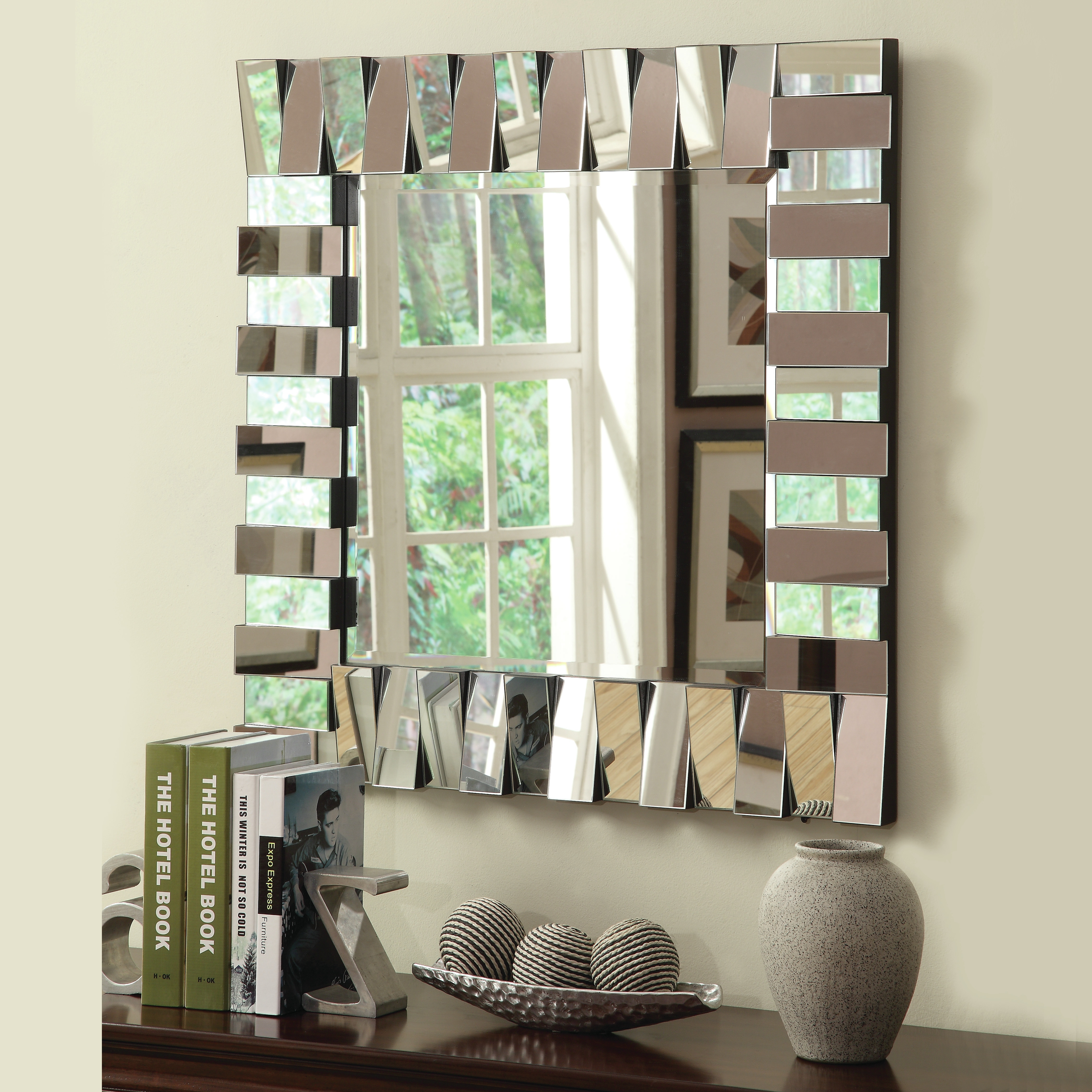 Delightful Ideas Large Decorative Wall Mirrors Tremendous Long Within Long Decorative Mirror (Image 4 of 15)