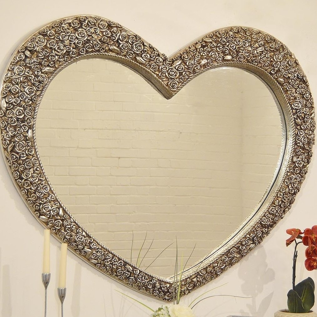 Featured Image of Heart Wall Mirror