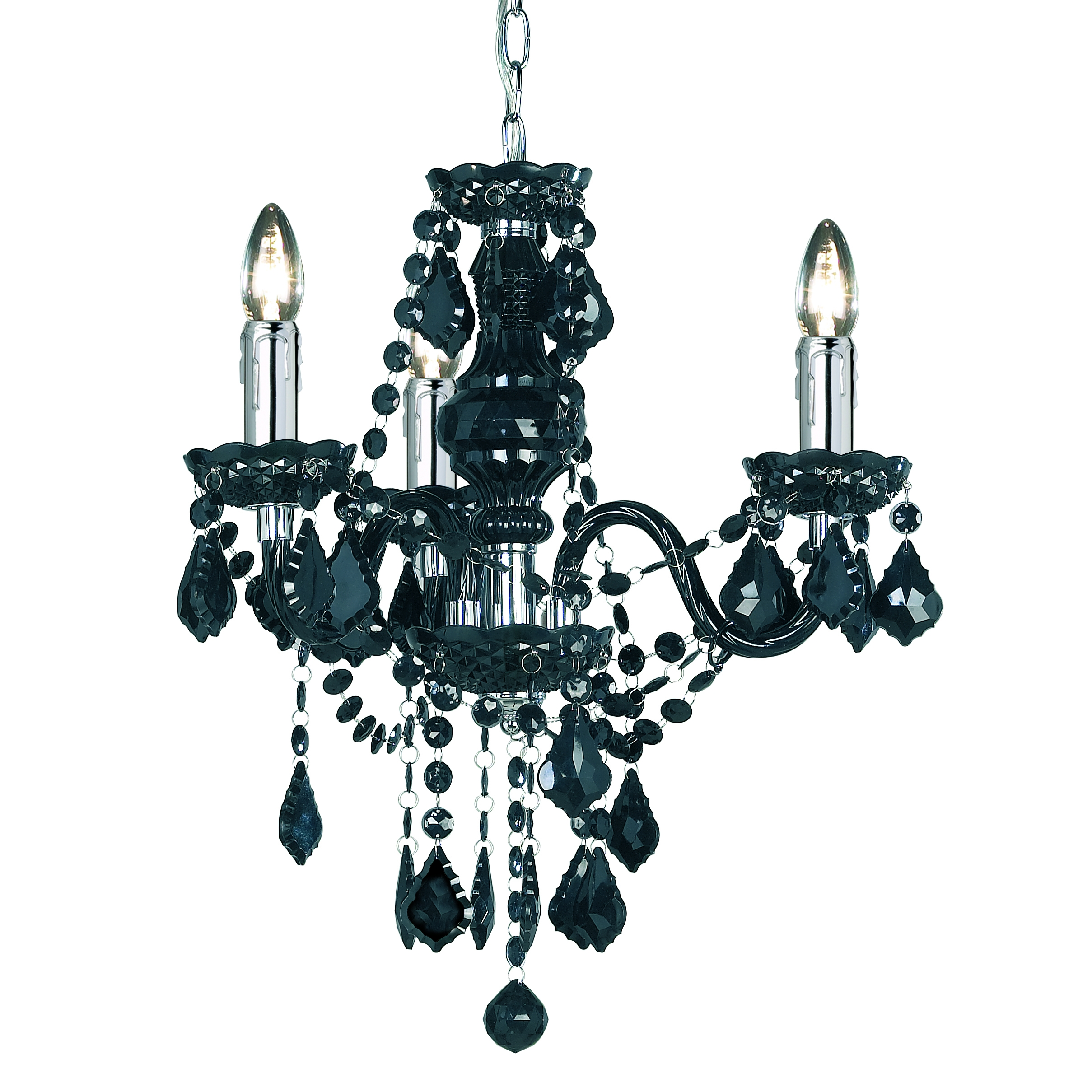 Design Ideas For Gothic Chandelier 18835 Regarding Black Gothic Chandelier (Image 9 of 15)