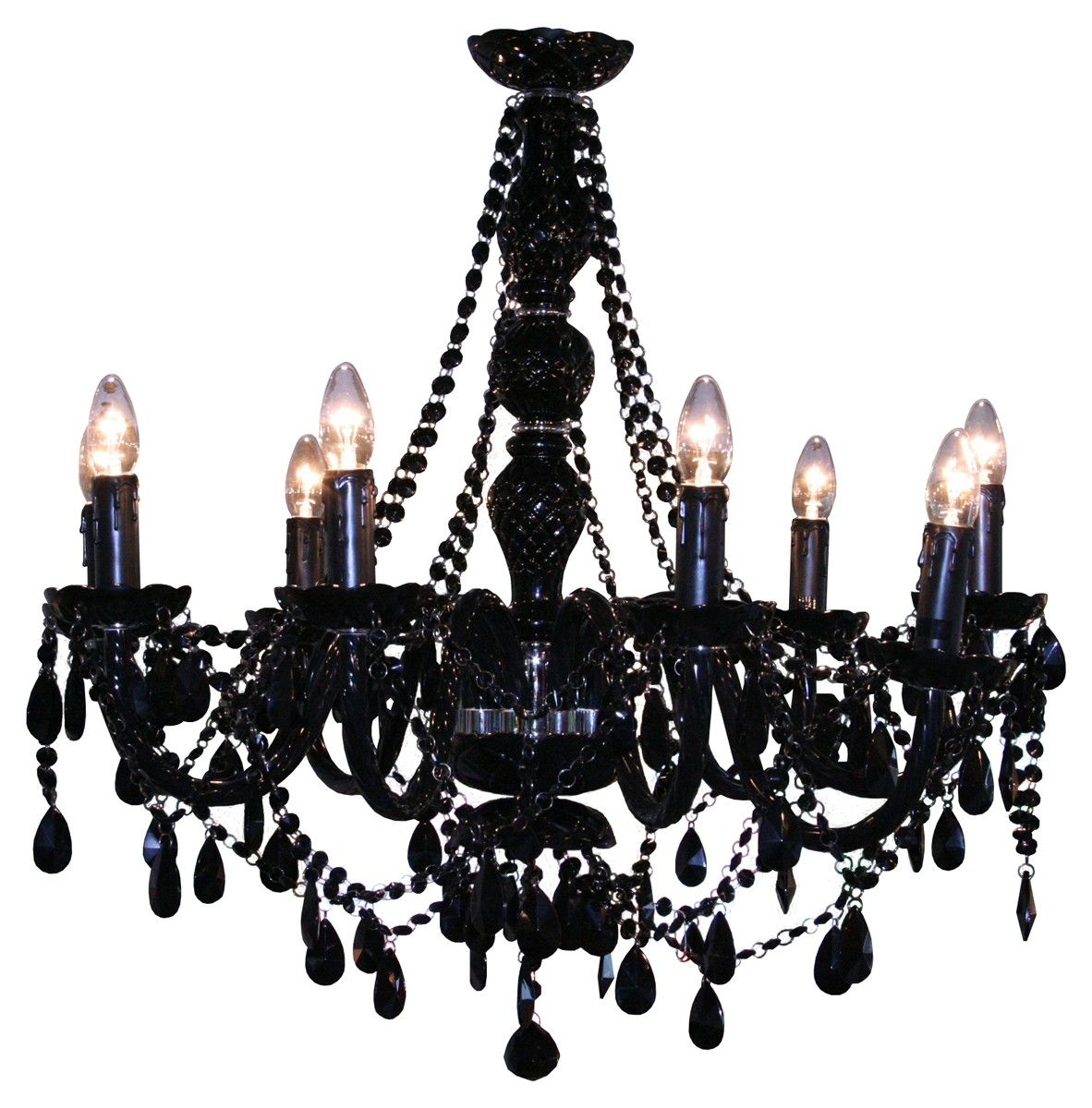 15 best collection of black gothic chandelier chandelier ideas design ideas for gothic chandelier 18835 within black gothic chandelier image 10 of 15 mozeypictures Gallery
