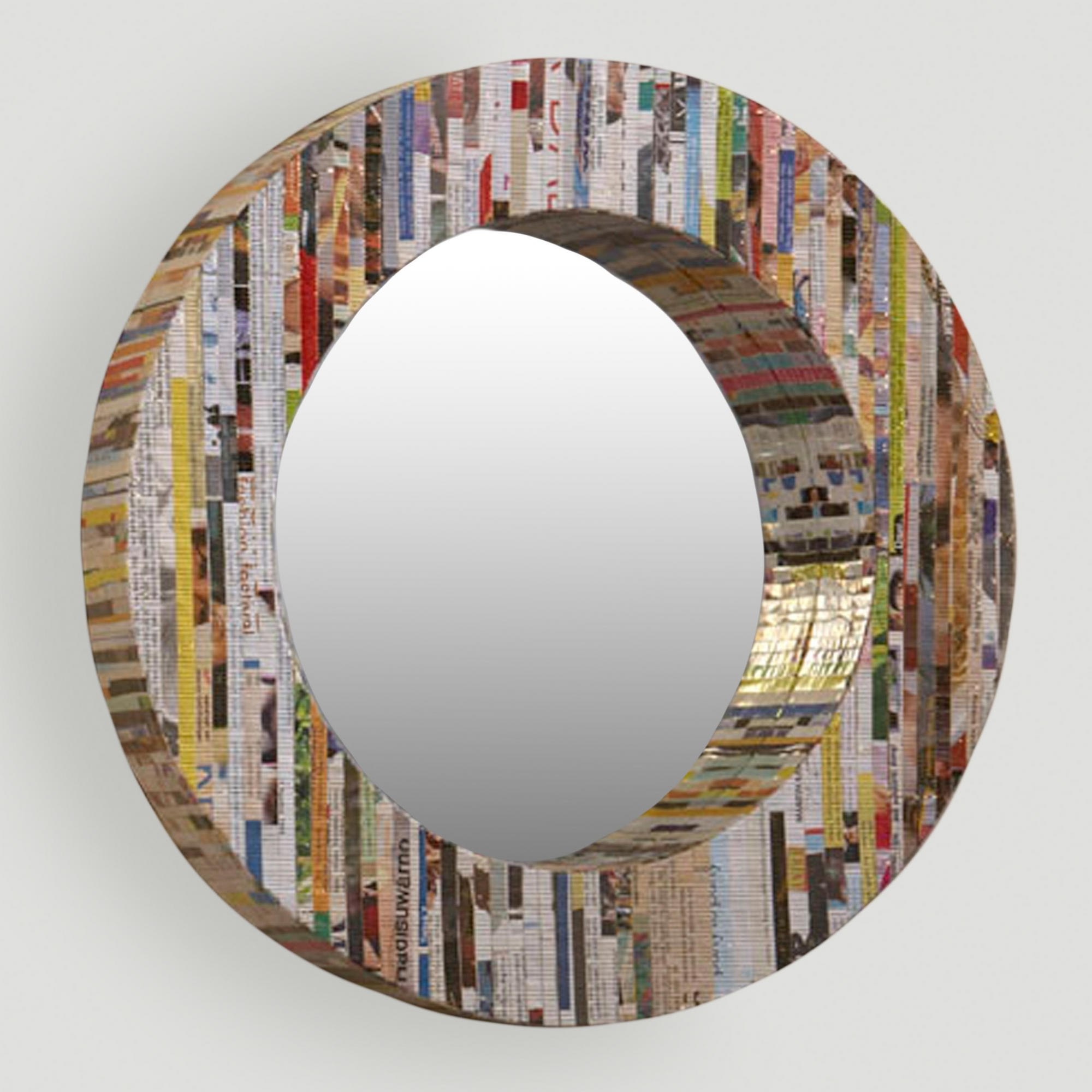 15 Photos Contemporary Round Mirrors Mirror Ideas