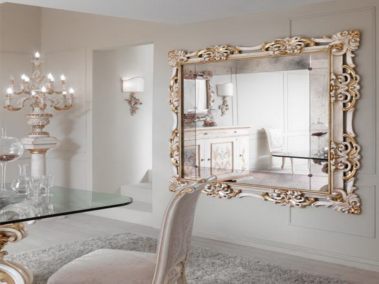 Designer Wall Mirror Beauty N Large Designer Wall Mirrors Large Within Designer Mirrors For Sale (Image 7 of 15)